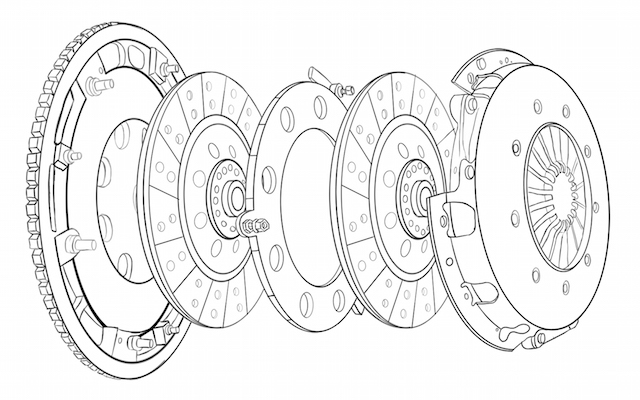 Dbl clutch diagram