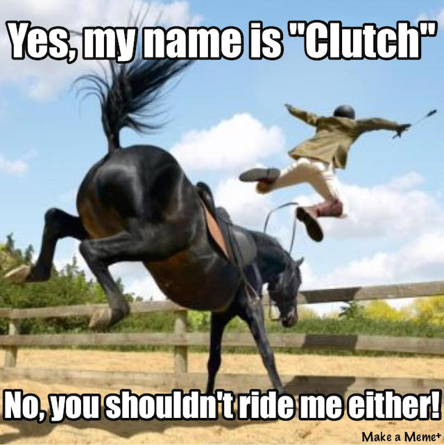 horse named clutch
