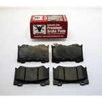 Ceramic and Semi Metallic Brake Pads