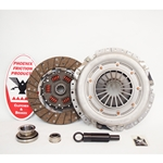 07-005.2DF Stage 2 Dual Friction Clutch Kit: Ford Fairmont, Mustang, Mercury Capri, Zephyr - 10