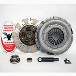 07-005.3C Stage 3 Ceramic Clutch Kit: Ford Fairmont, Mustang, Mercury Capri, Zephyr - 10