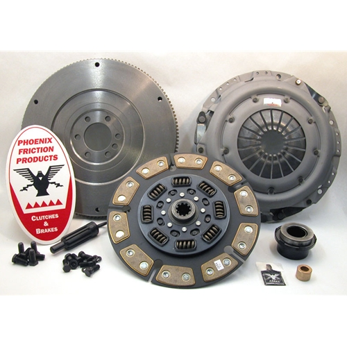 Stage 3 Ceramic Clutch Kit with Flywheel - Chevrolet, GMC 6.5L Diesel 1996 - 2002