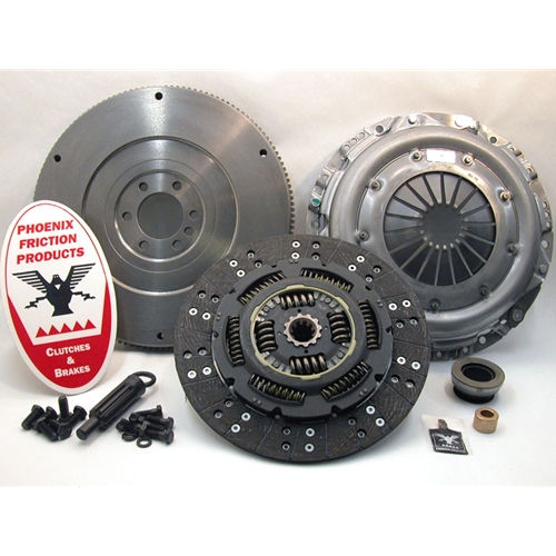 Solid Flywheel Conversion Clutch Kit - Chevrolet, GMC 6.5L Turbo Diesel 1992 - 1995