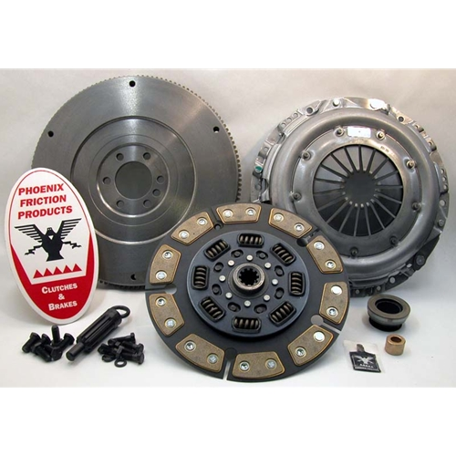 Stage 3 Ceramic Solid Flywheel Conversion Clutch Kit - Chevrolet, GMC 6.5L Turbo Diesel 1992 - 1995