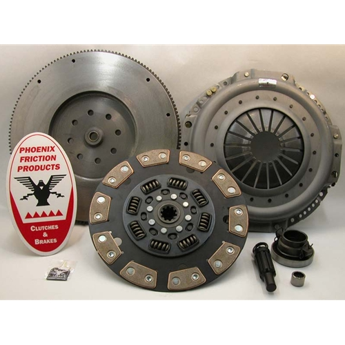 Stage 3 Ceramic Clutch Kit with Flywheel - Dodge Ram 5.9L Diesel, 8.0L Gas 1998 - 2005