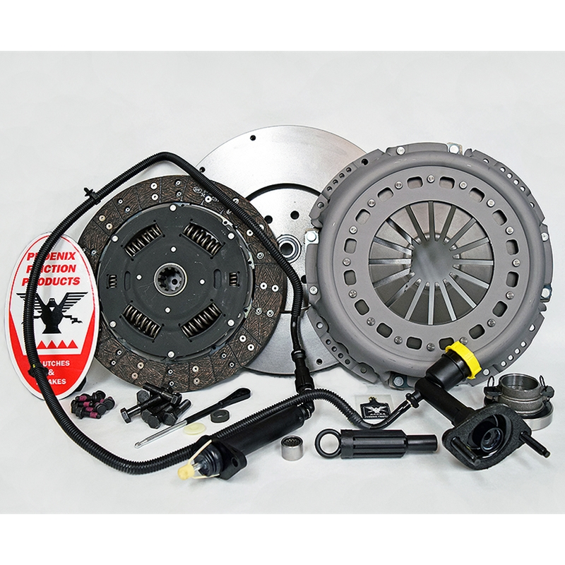 Solid Flywheel Conversion Clutch Kit - Dodge, Ram 5.9L 6.7L Turbo Diesel G56 6 Speed 2005 - 2014