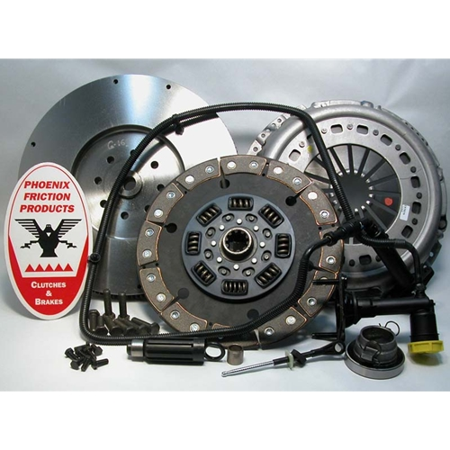 Stage 3 Ceramic Solid Flywheel Conversion Clutch Kit - Dodge, Ram 5.9L 6.7L Turbo Diesel G56 6 Speed 2005 - 2014