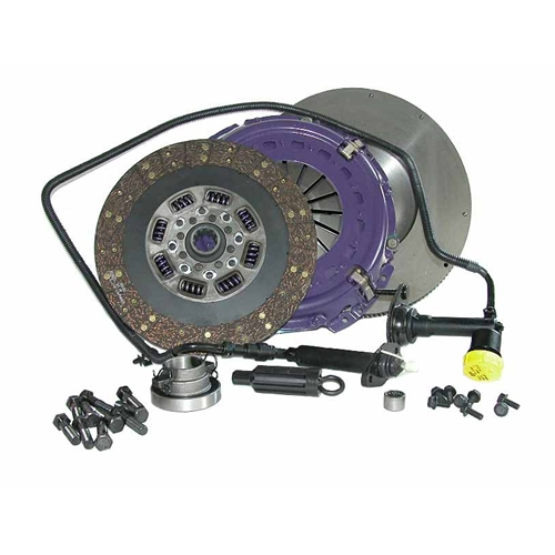 Stage 4 Ultimate Organic Solid Flywheel Conversion Clutch Kit - Dodge, Ram 5.9L 6.7L Turbo Diesel G56 6 Speed 2005 - 2014