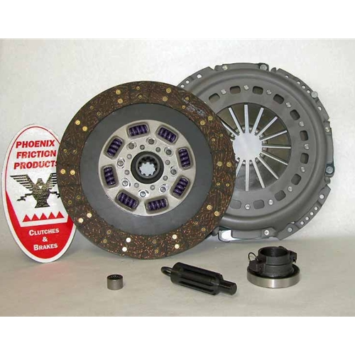 Stage 2 Heavy Duty Organic 13 inch Upgrade Replacment Clutch Kit - Dodge Ram 5.9L Diesel 1998 - 2005