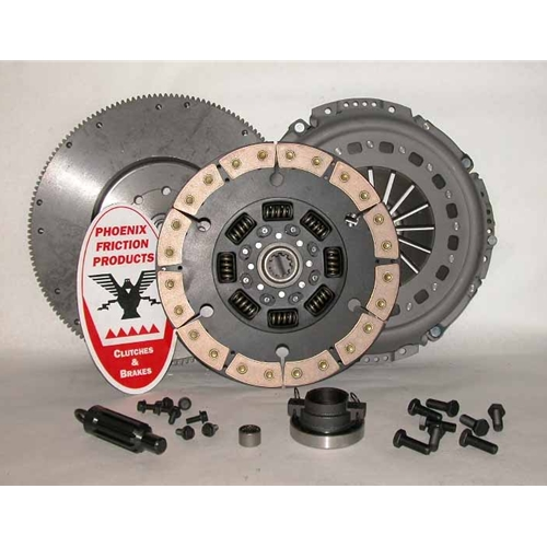 Stage 3 Ceramic 13 inch Upgrade Clutch Kit with Flywheel - Dodge Ram 5.9L Diesel 1998 - 2005