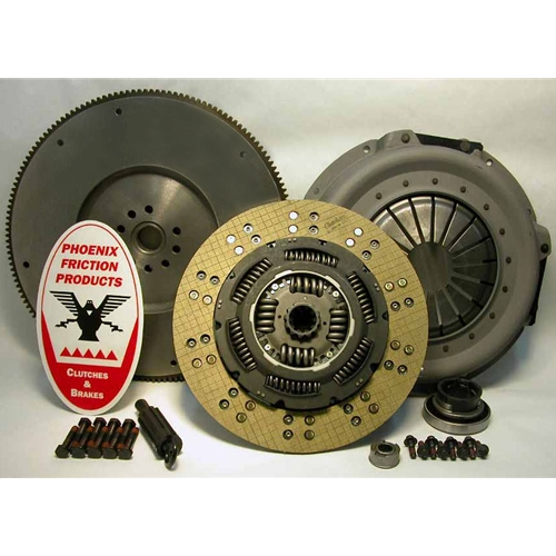 Stage 2 Kevlar Solid Flywheel Replacement Clutch Kit and Flywheel - Ford 7.3L IDI Diesel 1987 - 1994