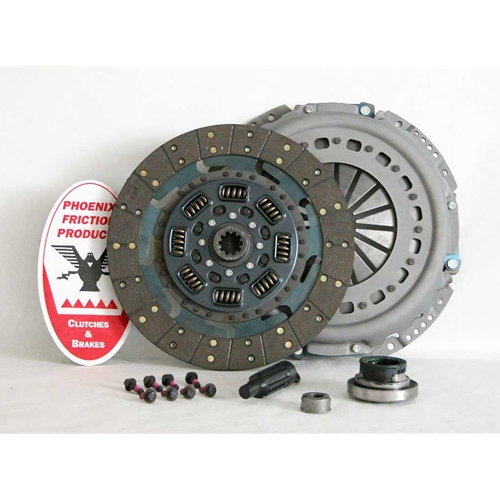 Solid Flywheel Replacement Clutch Kit and Flywheel - Ford 7.3L Turbo Diesel 1994 - 1998
