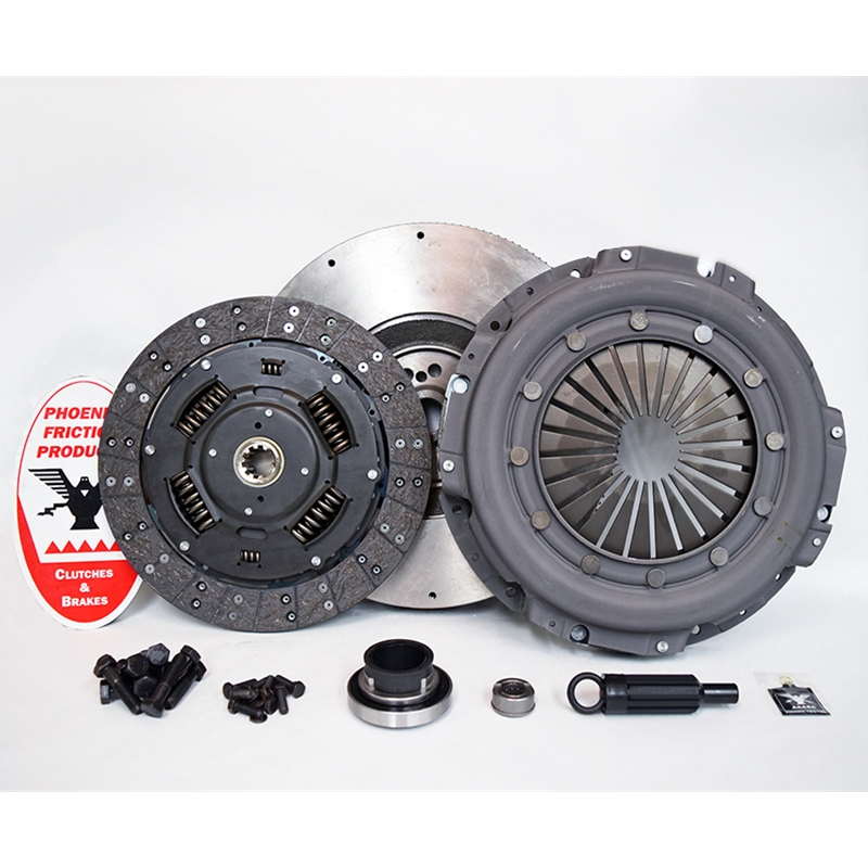 Solid Flywheel Replacement Clutch Kit and Flywheel - Ford 7.3L DFI Turbo Diesel 1994 - 1998