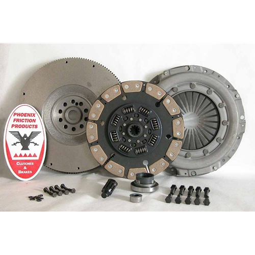 Stage 3 Ceramic Clutch Kit with Flywheel - Ford 7.3L DFI Turbo Diesel 1994 - 1998