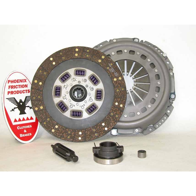 Stage 2 Heavy Duty Organic Solid Flywheel Conversion Replacement Clutch Kit - Dodge, Ram 5.9L 6.7L Turbo Diesel G56 6 Speed 2005 - 2014
