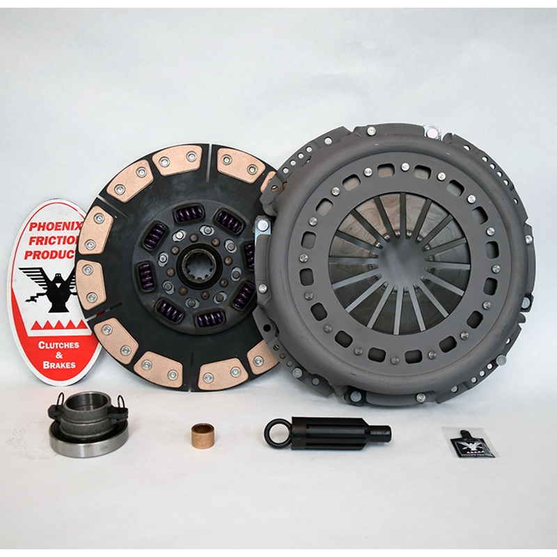 Stage 4 Extra Heavy Duty Ceramic Solid Flywheel Replacement Clutch Kit - Dodge, Ram 5.9L 6.7L Turbo Diesel G56 6 Speed 2005 - 2014