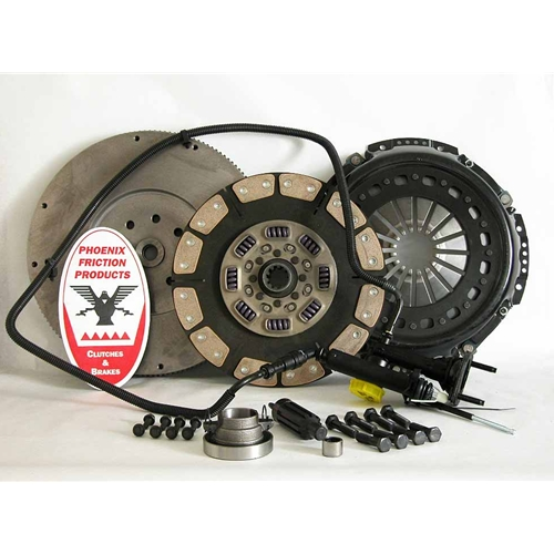 Stage 5 Extra HD Ceramic Solid Flywheel Conversion Clutch Kit - Dodge, Ram 5.9L 6.7L Turbo Diesel G56 6 Speed 2005 - 2014