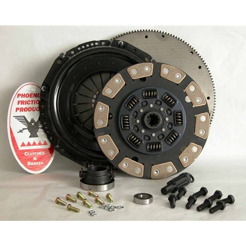 Stage 5 Extra Heavy Duty Ceramic Clutch Kit with Flywheel - Dodge Ram 5.9L Diesel, 8.0L Gas 1998 - 2005