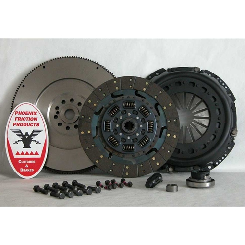 Stage 3 Extra HD Organic Solid Flywheel Replacement Clutch Kit and Flywheel - Ford 7.3L Turbo Diesel 1994 - 1998