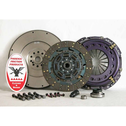 Stage 4 Ultimate Organic Solid Flywheel Replacement Clutch Kit and Flywheel - Ford 7.3L Turbo Diesel 1994 - 1998