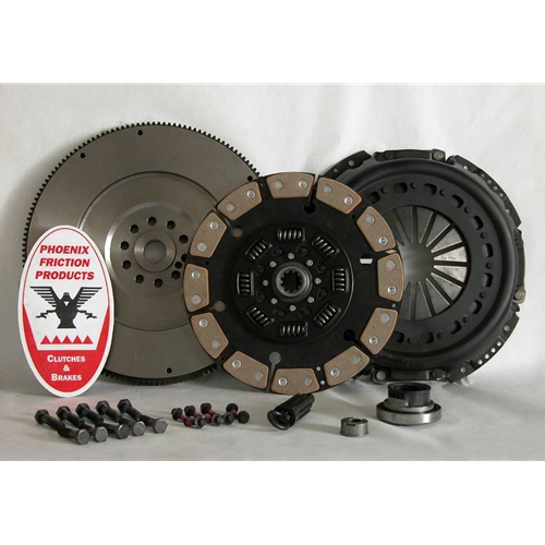 Stage 5 Extra HD Ceramic Solid Flywheel Replacement Clutch Kit and Flywheel - Ford 7.3L Turbo Diesel 1994 - 1998