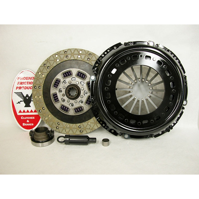 Stage 5 Extra Heavy Duty Kevlar/Ceramic Solid Flywheel Conversion Replacement Clutch Kit - Dodge, Ram 5.9L 6.7L Turbo Diesel G56 6 Speed 2005 - 2014