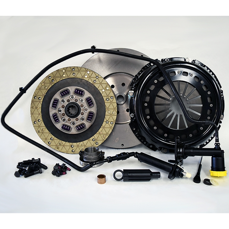 Stage 5 Extra HD Kevlar/Ceramic Solid Flywheel Conversion Clutch Kit - Dodge, Ram 5.9L 6.7L Turbo Diesel G56 6 Speed 2005 - 2014