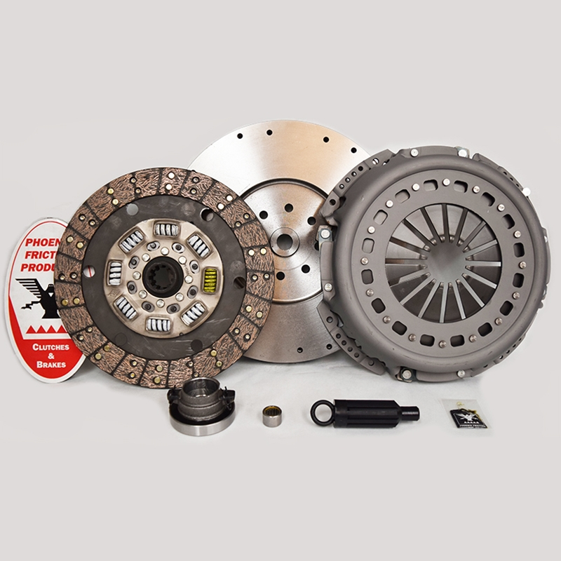 Stage 3 Heavy Duty Organic Clutch Kit with Flywheel - Dodge Ram 5.9L Turbo Diesel NV5600 6 Speed 1999 - 2005