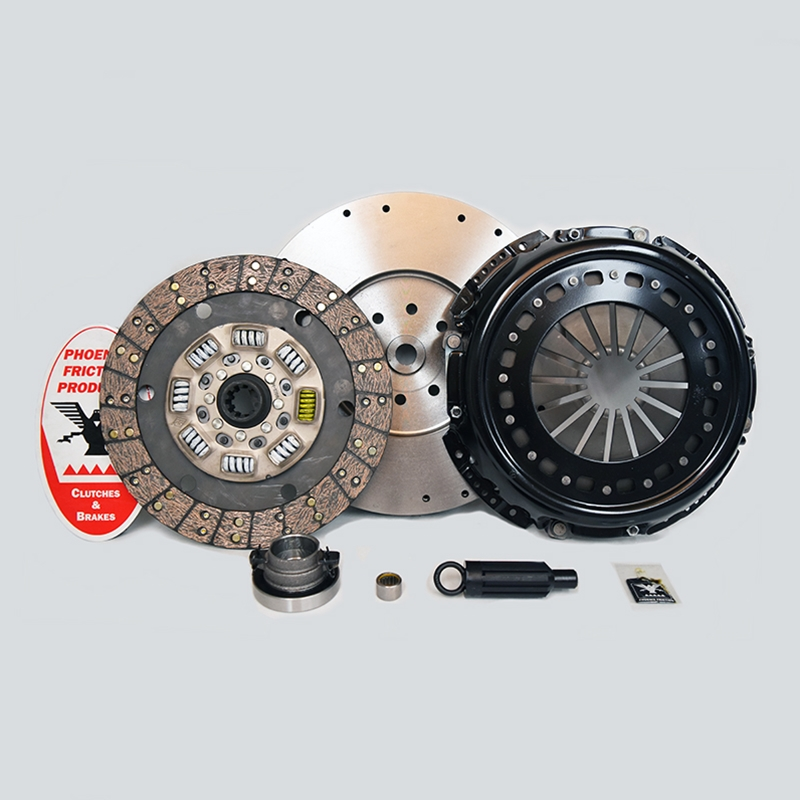 Stage 3 Extra Heavy Duty Organic Clutch Kit with Flywheel - Dodge Ram 5.9L Turbo Diesel NV5600 6 Speed 1999 - 2005