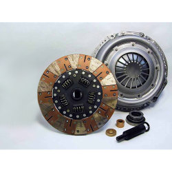04-019.2DF Stage 2 Dual Friction Clutch Kit: Camaro Corvette Firebird Grand Am Grand Prix GTO LeMans Ventura - 10.4 in.