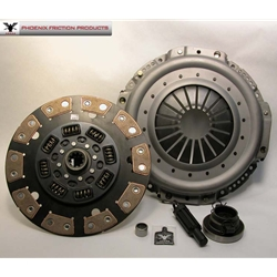 05-092.3C Stage 3 Ceramic Clutch Kit: Dodge 5.9L Diesel, 8.0L Gas Ram 2500, 3500, NV4500HD, 5 Speed - 12-1/4 in.