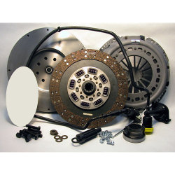 05-124CK.2 Stage 2 Heavy Duty Organic Solid Flywheel Conversion Clutch Kit: Dodge Ram 2500, 3500, 4500, and 5500 G56 6 Speed Transmission - 13 in.