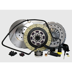 05-124CK.2K Stage 2 Kevlar Solid Flywheel Conversion Clutch Kit: Dodge Ram 2500, 3500 G56 6 Speed Transmission - 13 in.