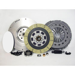 05-501CK.2K Stage 2 Kevlar Clutch 13 in. Upgrade Kit including Flywheel: Dodge Ram 2500, 3500 5.9L Cummins Diesel, NV4500 5 Speed- 13 in.