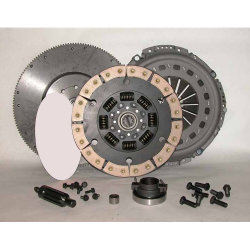 05-501CK.3C Stage 3 Ceramic Clutch 13 in. Upgrade Kit including Flywheel: Dodge Ram 2500, 3500 5.9L Cummins Diesel, NV4500 5 Speed