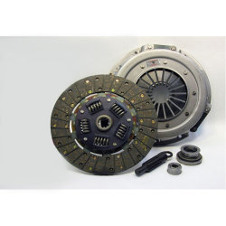 07-042.2DF Stage 2 Dual Friction Clutch Kit: Ford Mustang, Mercury Capri - 10-1/2 in.