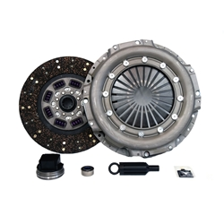 07-113.2 Stage 2 Heavy Duty Organic Clutch Kit: Ford 7.3L Powerstroke Diesel F250, F350, F450, F550, Super Duty Pickup - 13 in.