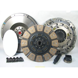 07-503iF.3C Stage 3 Ceramic Clutch Kit includes Flywheel: Ford 6.0L Powerstroke Diesel F250 F350 F450 F550 Super Duty - 13 in.