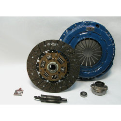 16-208.2 Stage 2 Heavy Duty Organic Clutch Kit: Use with Aftermarket Solid Flywheel - 9-1/4 in.