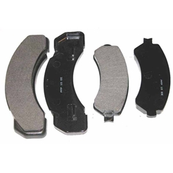 D184 Heavy Duty High Heat Extended Life Disc Brake Pad Set - Chevrolet, Freightliner, GMC, International