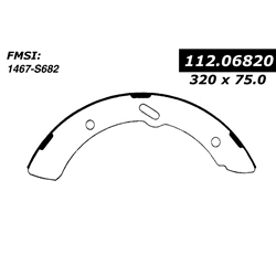P 31789 Bs 682 Severe Duty Brake Shoes Mitsubishi Fuso Fe Fg 126 In X 294 In
