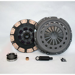05-524.4C Stage 4 Extra Heavy Duty Ceramic Solid Flywheel Replacement Clutch Kit: Dodge Ram 2500, 3500 G56 6 Speed Transmission - 13 in.