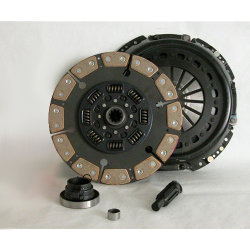 05-501.5C Stage 5 Extra Heavy Duty Ceramic Clutch 13 in. Upgrade Replacement Kit: Dodge Ram 2500, 3500 5.9L Cummins Diesel, 8.0L Gas NV4500 5 Speed- 13 in.