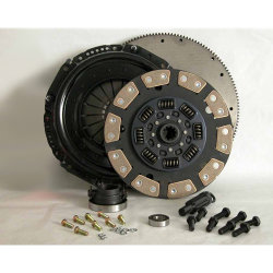 05-092iF.5C Stage 5 Extra Heavy Duty Ceramic Clutch Kit including Flywheel: Dodge 5.9L Diesel, Ram 2500, 3500, NV4500HD, 5 Speed - 12-1/4 in.