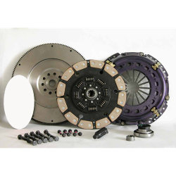 07-154CK.6C Stage 6 Ultimate Extreme Duty Ceramic Solid Flywheel Conversion Clutch Kit: Ford 7.3L Powerstroke Diesel F250 F350 F450 Pickup - 13 in.