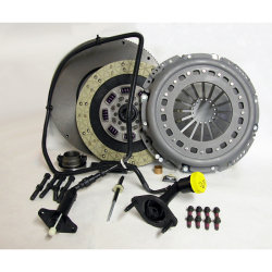 05-124CK.3KC Stage 3 Kevlar/Ceramic Solid Flywheel Conversion Clutch Kit: Dodge, Ram 2500, 3500, 4500, 5500 G56 6 Speed Transmission - 13 in.