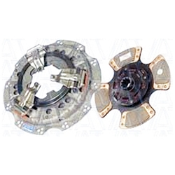 107606-7 New Spicer Style 12.2 in. (310mm) Angle Ring 1-1/2 in. Spline 4 Ceramic Super Button Isuzu Clutch Set