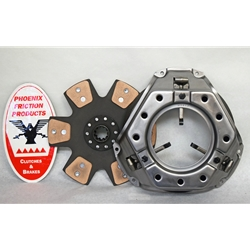 WCCS11FRCB Wood Chipper Clutch Kit with 11 in. Rigid Ceramic Button Disc: Ford Engines