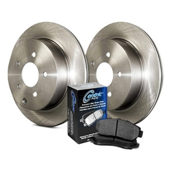 908.67512 Centric Select Axle Pack Pads and Rotors - Dodge. Ram 2500 3500 - Rear