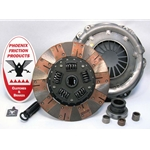 01-026.2DF Stage 2 Dual Friction Clutch Kit: AMC AMX Javelin, Jeep CJ DJ J Series Jeepster - 10-1/2 in.